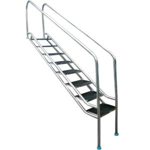 Inclined 304 Model Stainless Steel Pool Ladder- Width=500 Mm