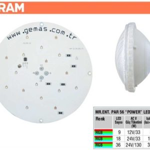 Osram Bulbs With Central Pcb