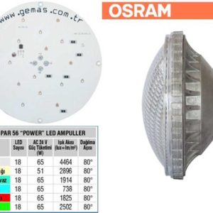 Osram Single Color Par56 18 Power Led Bulb