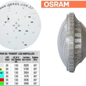 Osram Single Color Par56 36 Power Led Bulb