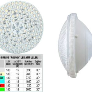 Single Color 180 Par 56 Led Bulb